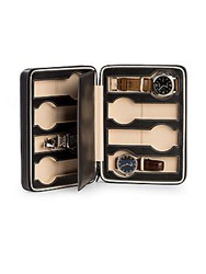 Bey Berk Leather Zippered Watch Case No Color
