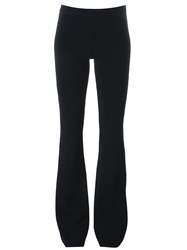 Iceberg Stretch Fabric Flared Trousers Blue