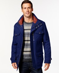 London Fog Big And Tall 3 In 1 Field Coat Navy
