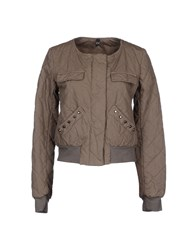 Please Coats And Jackets Jackets Women Khaki
