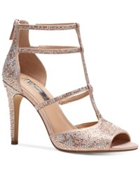 Inc International Concepts Raechie Embellished Evening Sandals Only At Macy's Women's Shoes Light Rose