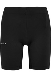 Falke Ergonomic Sport System Stretch Running Shorts Black