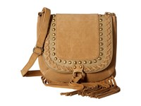 Scully Caterina Fringe Handbag Tan Handbags