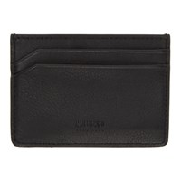 Hugo Black Statement Logo Card Holder
