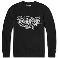 Undefeated Cartoon Feather Crew Neck Sweat Black
