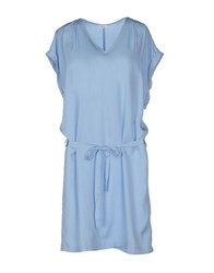 Filippa K Dresses Short Dresses Women Sky Blue