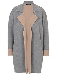 Betty Barclay Cardigan Coat Grey Beige