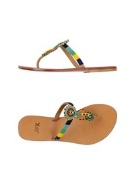 Jfk Footwear Thong Sandals Women