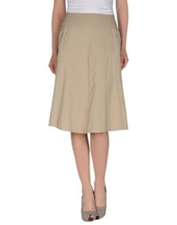 Laurel 3 4 Length Skirts Sand