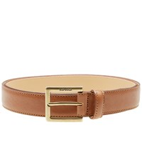 Barbour Country Leather Belt Brown