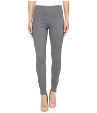 Lysse Taylor Seamed Leggings Grey Tweed Women's Casual Pants Gray