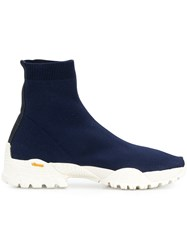 Alyx White Sole Sock Trainer Blue