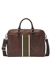 Fossil Mercer Leather Workbag Brown