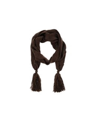 Atelier Fixdesign Oblong Scarves Dark Brown
