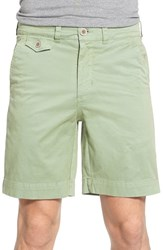 Men's Vintage 1946 'Sunny' Stretch Chino Shorts Shale Green