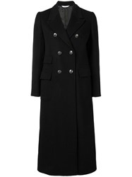 Tonello Double Breasted Jacket Coat Black