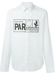 Kenzo Travel Tag Shirt White
