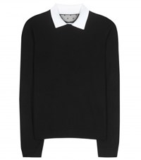 Red Valentino Cashmere And Silk Sweater Black