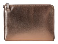 Ivanka Trump Rio Tech Clutch With Battery Charging Pack Prosecco Metallic Clutch Handbags Brown