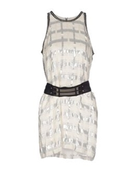 Sass And Bide Short Dresses Ivory