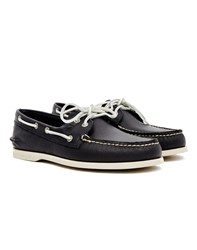 Sperry Classic Leather Boat Shoe Navy