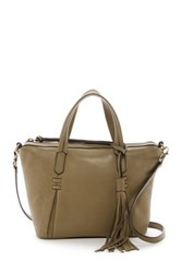 Joelle Hawkens Candyce Leather Mini Satchel Green