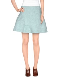 Calla Skirts Mini Skirts Women Sky Blue