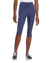 Bench Drawstring Cropped Pants Blue