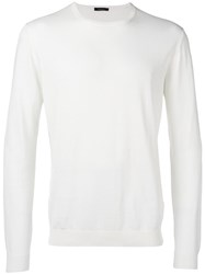Roberto Collina Plain Sweatshirt White