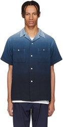 Blue Blue Japan Graduated Dye Shirt