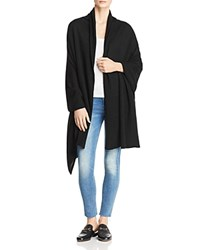 Bloomingdale's C By Cashmere Travel Wrap 100 Exclusive Black