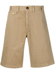 Barbour Stone Washed Shorts Nude And Neutrals