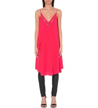 Free People All I Want Woven Dress Red
