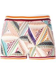 Missoni Knitted Patchwork Shorts