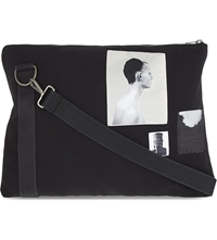 Rick Owens Drkshdw Cross Body Worker Bag Black