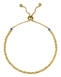 Officina Bernardi Slash Bead Slider Bracelet Gold
