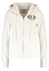 Abercrombie And Fitch Tracksuit Top White