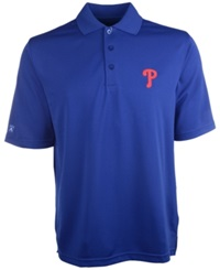 Antigua Men's Short Sleeve Philadelphia Phillies Pique Xtra Lite Polo