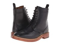 Lotus Dunford Black Leather Men's Lace Up Boots