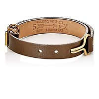 Giles And Brother Visor Cuff Bracelet Olive