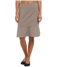 Royal Robbins Embossed Discovery Skirt Light Taupe Women's Skirt