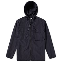 Our Legacy Cropped Lizard Parka Blue