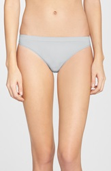 Halogen Seamless Thong Grey Micro
