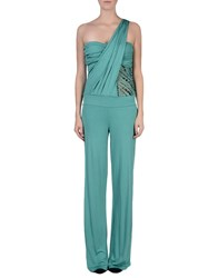 Met Miami Cocktail Jumpsuits Light Green