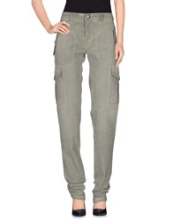 Prada Denim Denim Trousers Women Military Green