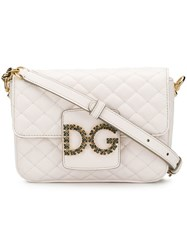 Dolce And Gabbana Dg Millenials Crossbody Bag White