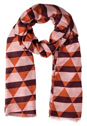 Ichi Beita Scarf Vineyard Wine Multicoloured