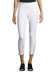 3.1 Phillip Lim Jodphur Ankle Zip Pants Antique White