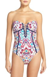 Nanette Lepore Women's 'Festival Seductress' One Piece Swimsuit