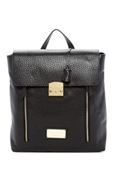 Valentino By Mario Valentino Chico Genuine Leather Backpack Black